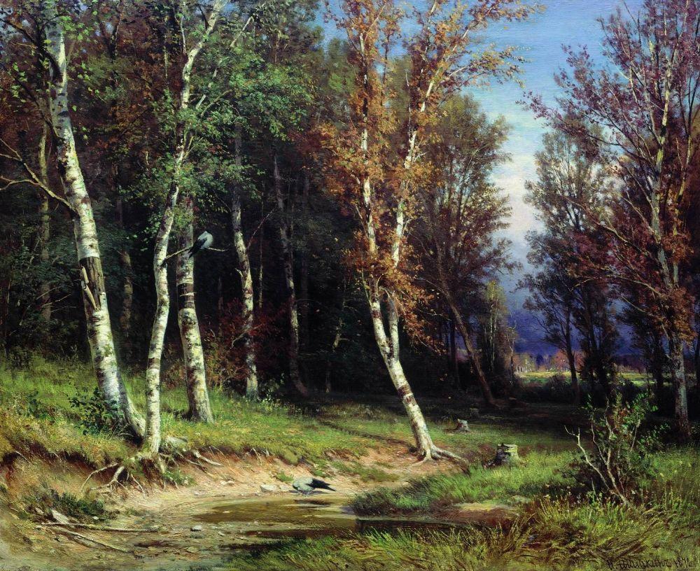 Иван Иванович Шишкин. Ð›ÐµÑ Ð¿ÐµÑ€ÐµÐ´ грозой