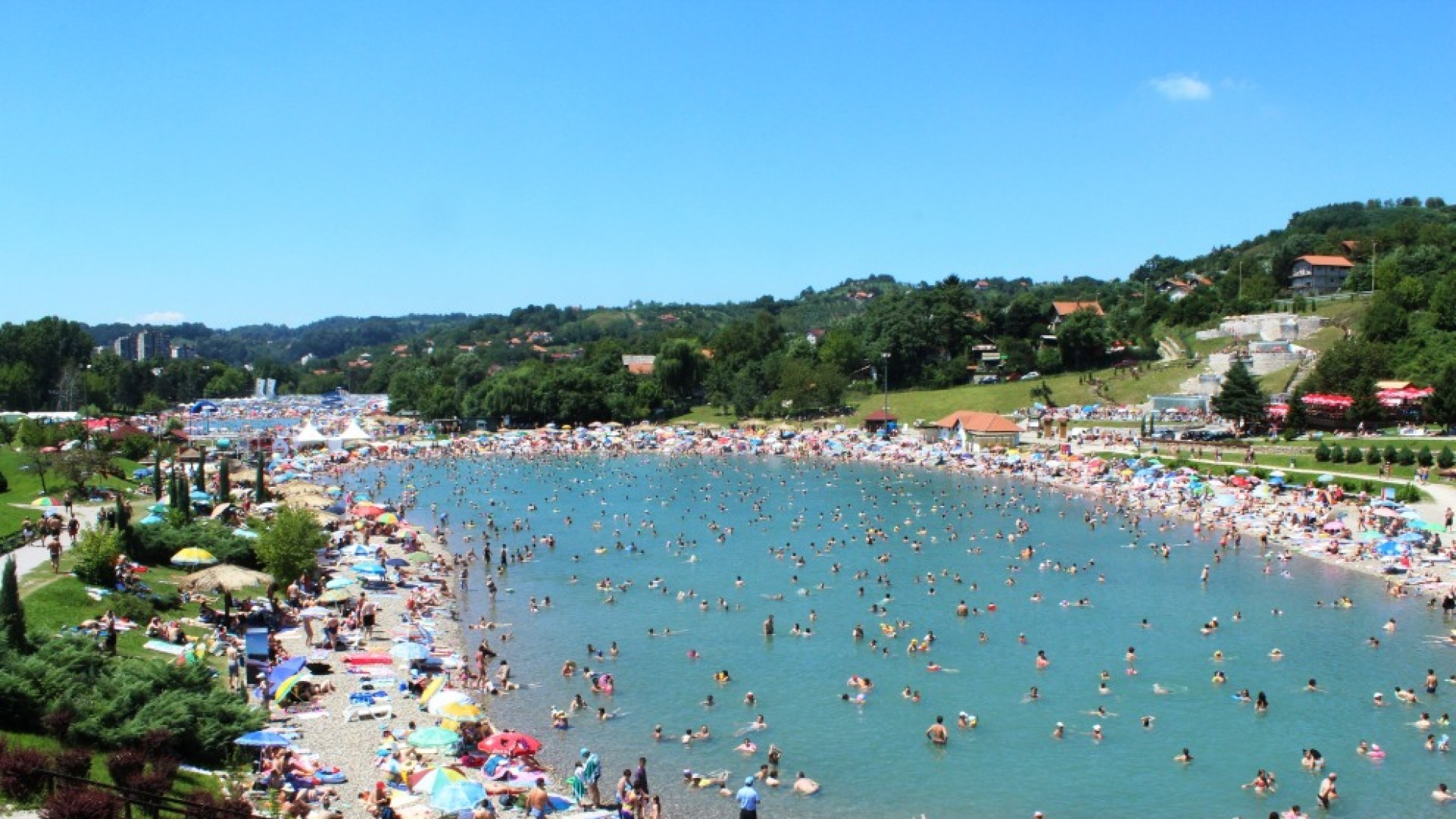 Панонские озёра – один из лучших летних курортов в Боснии