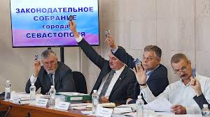 Депутаты Закса Севастополя с…