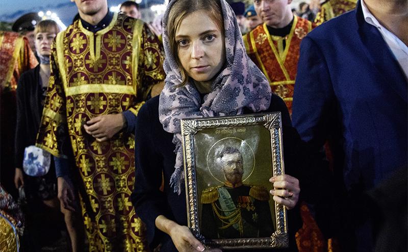 Поклонская добралась до суровых мужчин Кавказа