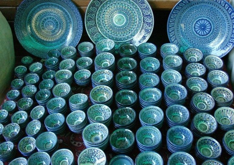 Рустам Усманов: керамическое волшебство 1001 ночи