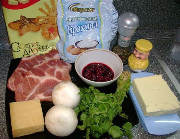 Мясо в тесте по-русски