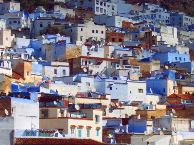 путешествие синий город 19