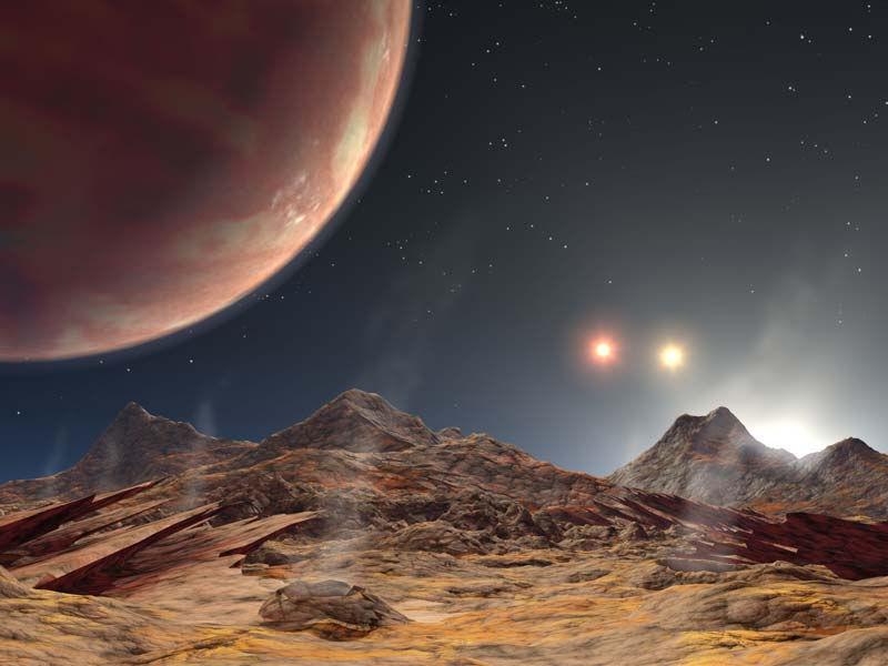 Обнаружена система, состоящая сразу из трех звезд