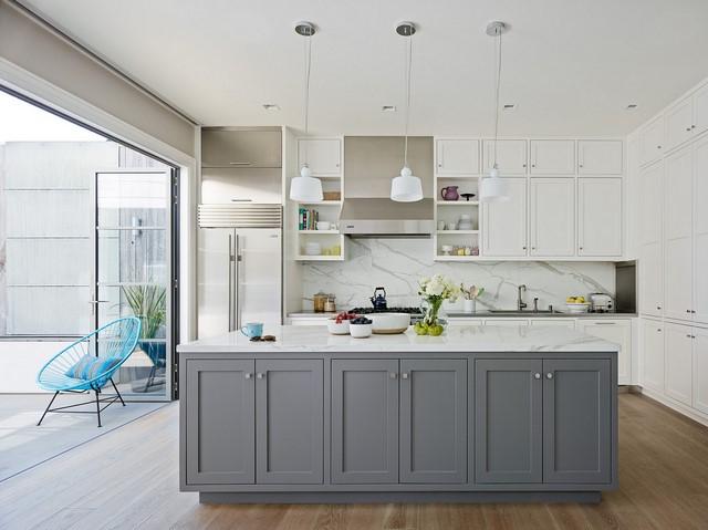 8 идей для отделка стены между кухонными шкафами