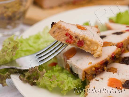 Худеть приятно и легко без всякой подготовки, когда куриной пастромой запахло из духовки!