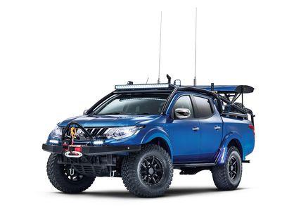 Воин пустынь: пикап Mitsubishi L200 стал экстремальнее