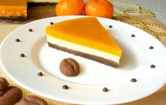 Бесподобно вкусный мандариновый чизкейк с новогодним ароматом!