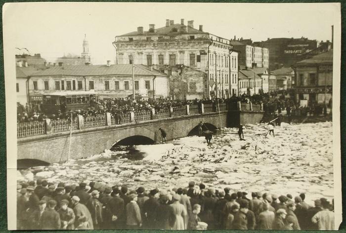 Москва - река, 1930 год.
