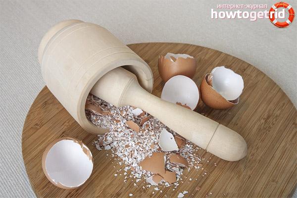 Приготовление яичной скорлупы в домашних условиях