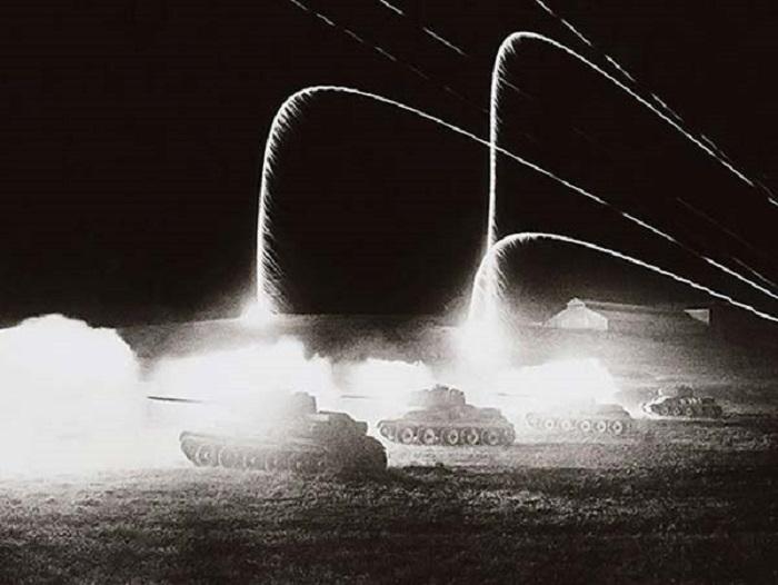 Огонь ведут танки.