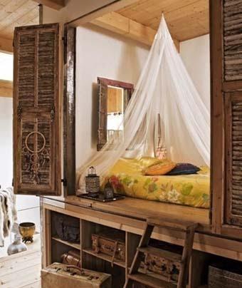 спальное место в кладлвке
