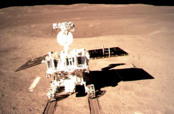 Китайский луноход начал миссию на обратной стороне Луны