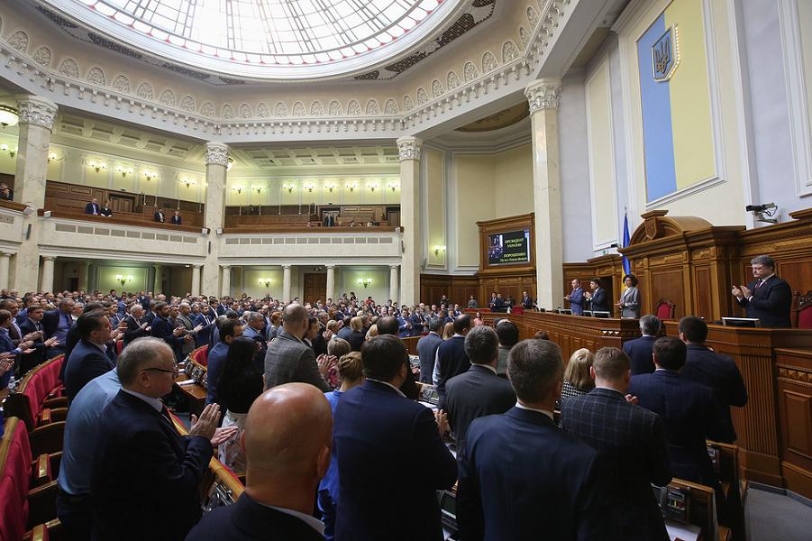Военное положение в Украине без войны. И без военного положения