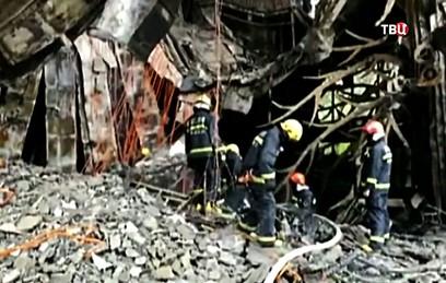 При пожаре в отеле в китайском Харбине погибли 18 человек