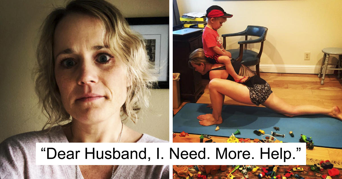 Mom Desperately Asks Her Husband For Help On Facebook, And Everyone Should Read It