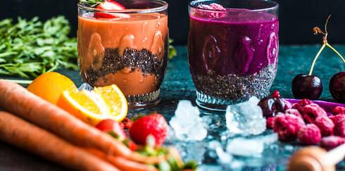 2 рецепта  удивительно полезных коктейля с семенами чиа