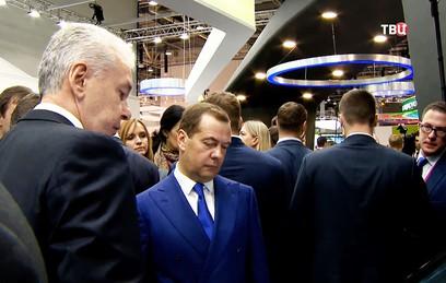 Собянин рассказал Медведеву о передовых проектах Москвы