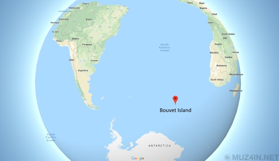 Необитаемый остров, которому присвоили Интернет-домен верхнего уровня