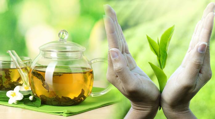 Тоники для кожи на основе зеленого чая