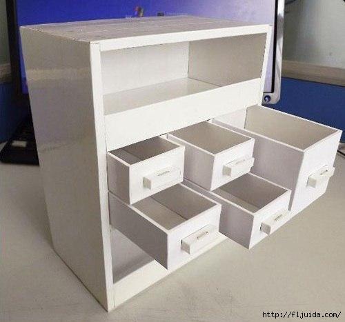 Мебель из картона своими руками мастер класс