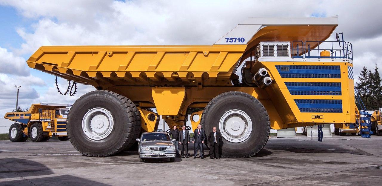 БелАЗ 75710 – самый большой самосвал в мире и его будущее