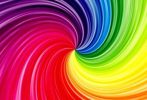 цвета радуги в порядке