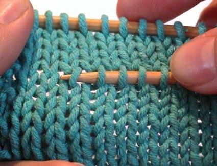 Как правильно распускать вязание