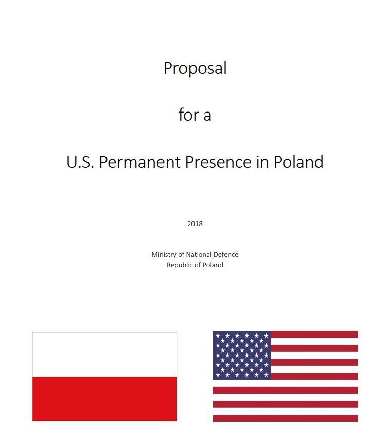 Планы постоянного военного присутствия армии США в Польше