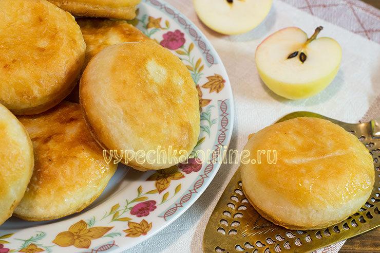 Пончики-бомбочки с яблоками — взрыв вкуса!