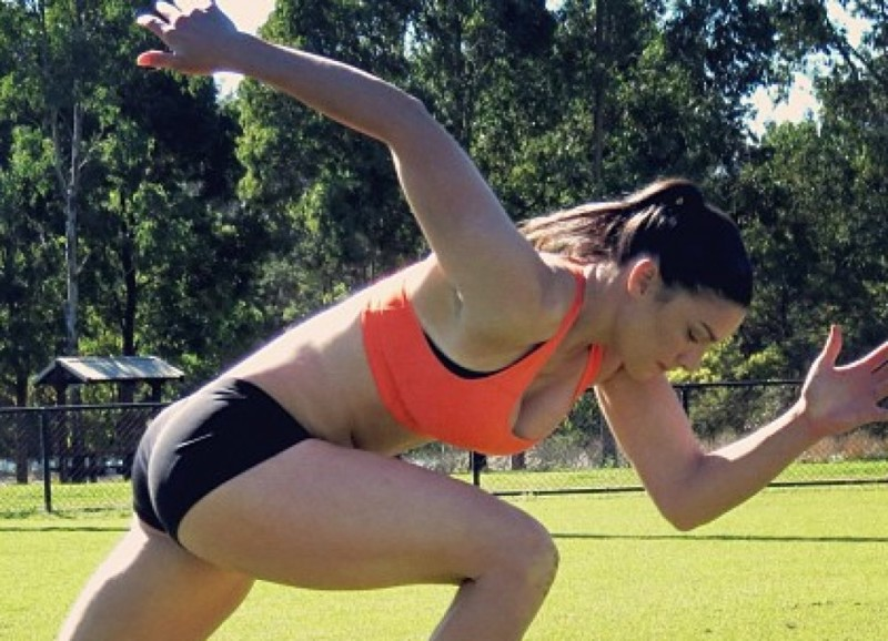 Австралия - Спортивность и активность девушки, разные народы, сексуальность