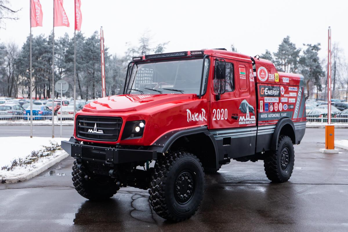 МАЗ сделал «самый красивый» грузовик