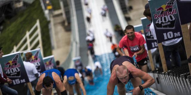 В Сочи пройдёт забег на олимпийский трамплин