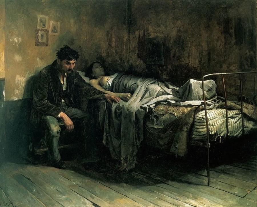 Угнетение больных туберкулёз…