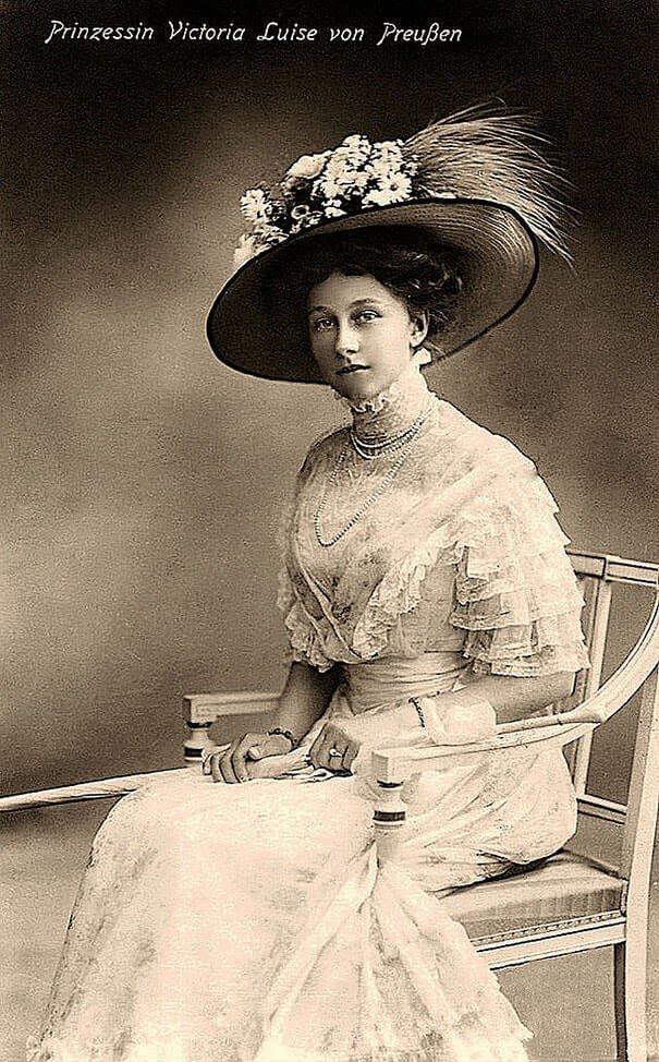 Принцесса Виктория Луиза Прусская 20 век, красота, фото