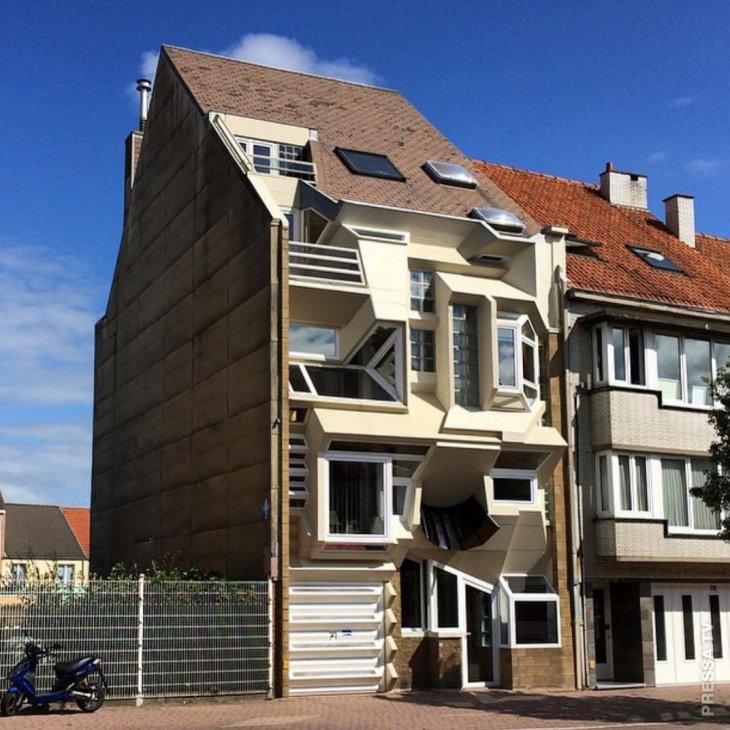 Уродливая архитектура Бельгии