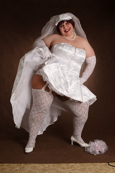 Фото свадебное платье для толстых
