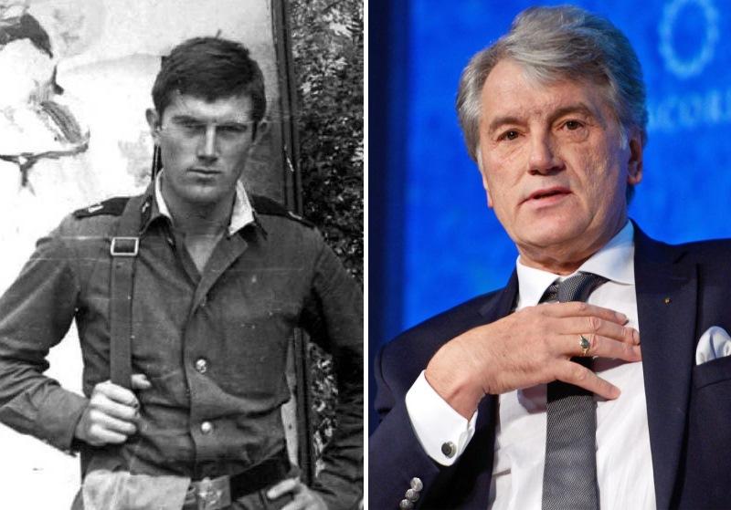 Виктор Ющенко. Политики в молодости: вот как они выглядели (фото)