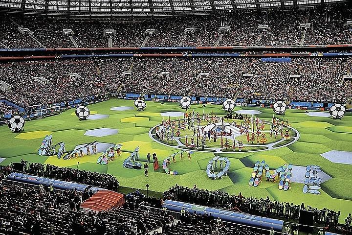 После проведения Чемпионата мира по футболу в России ВВП вырос на 952 млрд рублей