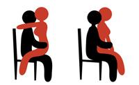 наездница на стуле