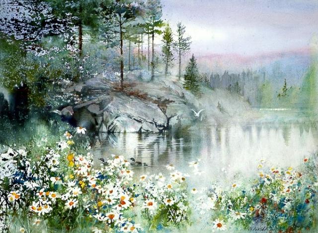 """""""Первозданная красота, где есть пространство и свобода для ума"""" — чарующие летние пейзажи Ниты Энгл"""