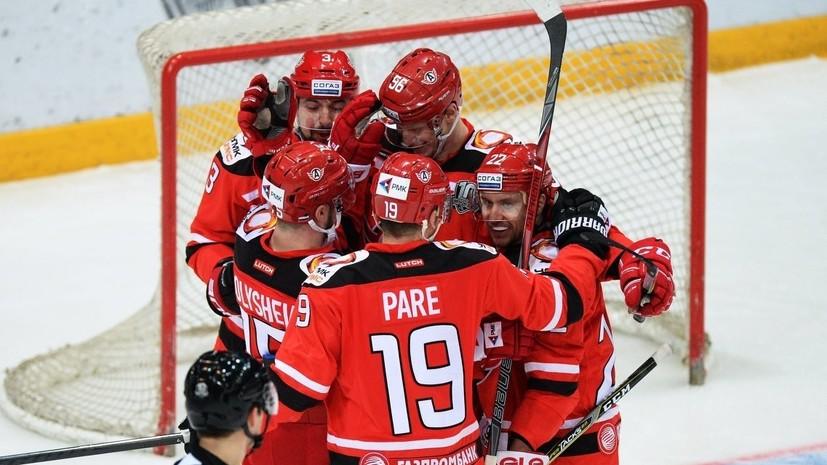 Нападающий «Автомобилиста» Голышев прокомментировал старт сезона в КХЛ