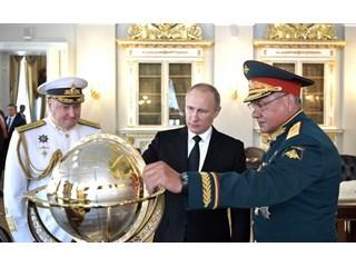 Сергей Шойгу: «Я давно хочу подарить нашим американским коллегам карту мира»