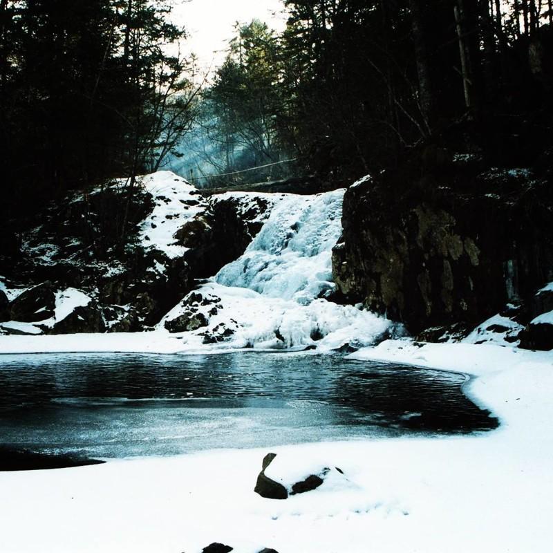 Смольные водопады, Приморский край водопады, водопады России, водопады зимой, замёрзшие водопады, красивые водопады, природа России