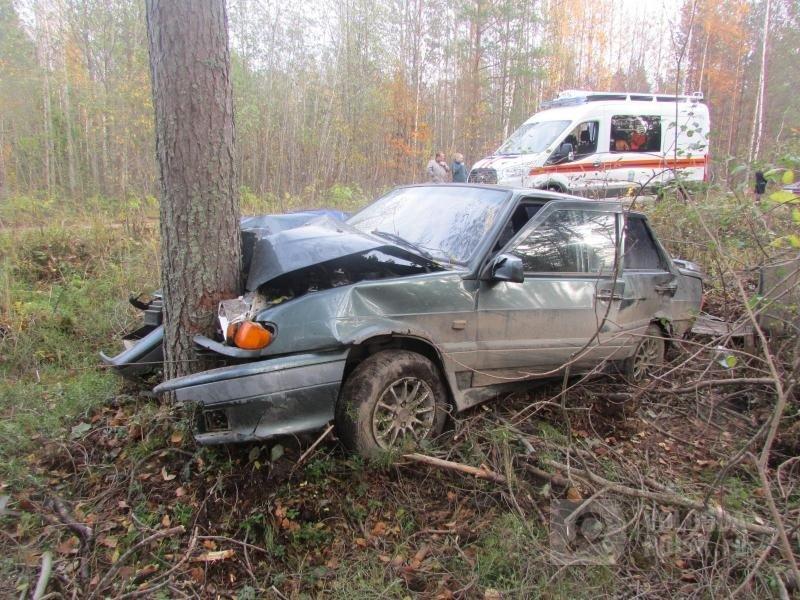 Во Владивостоке на Шаморовской трассе произошло серьезное ДТП с Honda