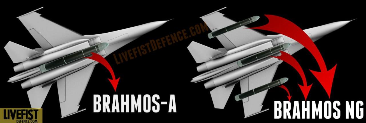 Индийские истребители Cу-30МКИ смогут применять до трех ракет BrahMos-NG