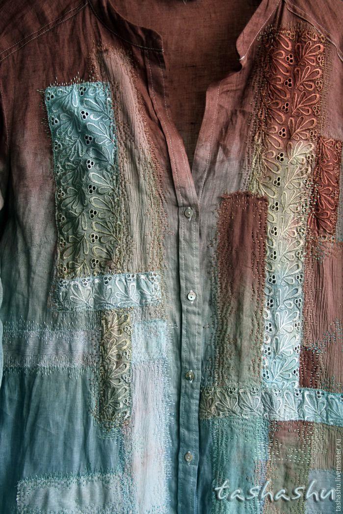 Как «уделать» новую рубашку: эксперимент в стиле боро