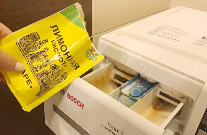 Прекрасный уничтожитель микроорганизмов, вызывающий неприятный запах из стиральной машины. / Фото: santehnikportal.ru