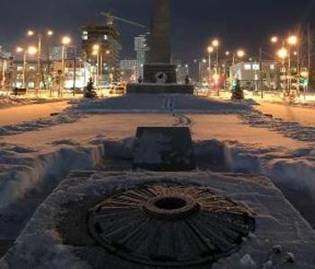 В Екатеринбурге погас Вечный огонь