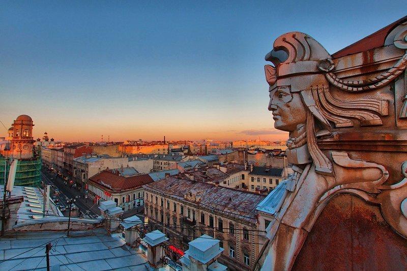 Эти манящие крыши Санкт-Петербурга
